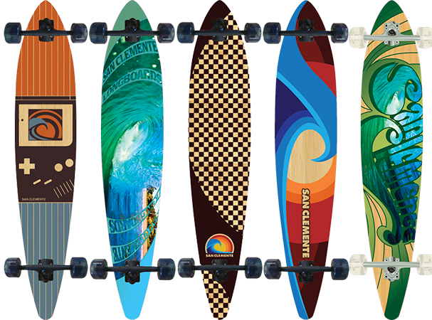 different skateboard tricks