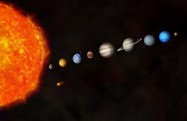 what makes our solar system - photo #10