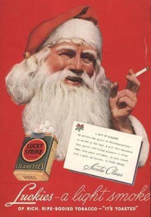 smoking Santa